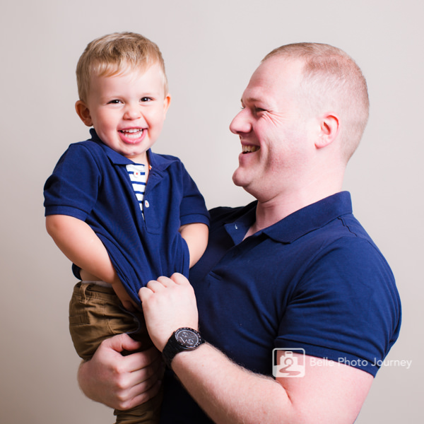 father and son professional family portrait photo shoot highgate photographer
