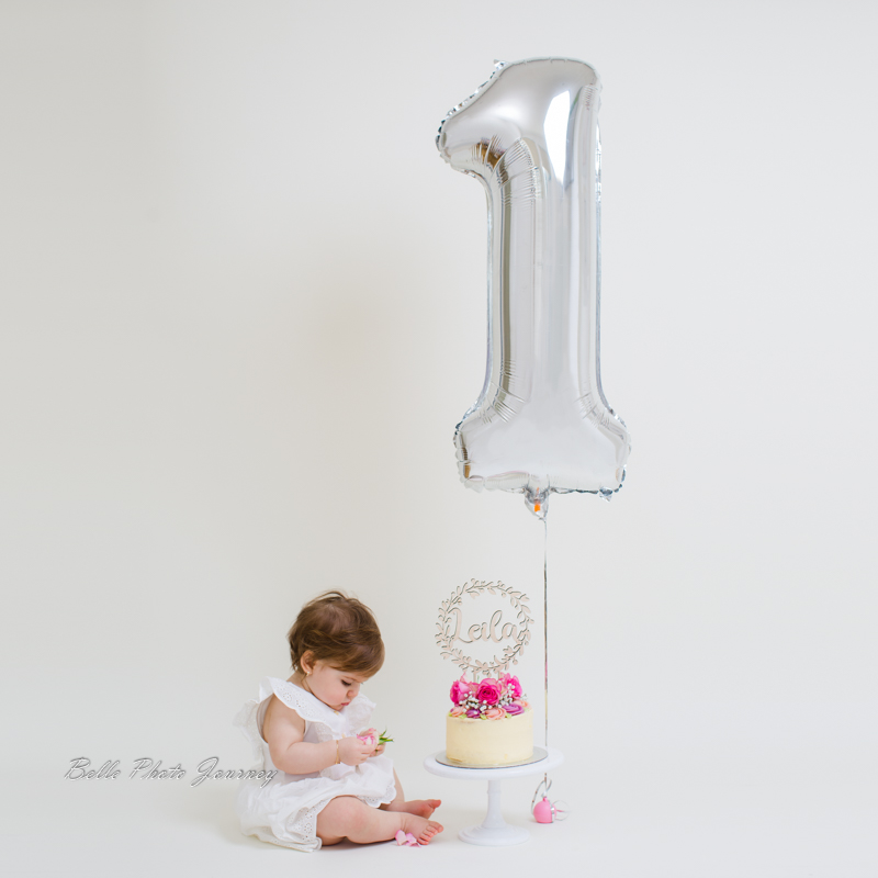 1st birthday photo session cake smash photographer north london